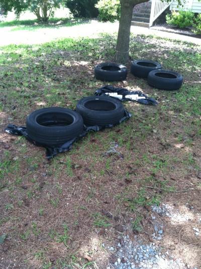 Unpainted Tires